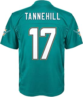 OuterStuff Ryan Tannehill Miami Dolphins Baby Blue Name and Number Jersey - 24 Months