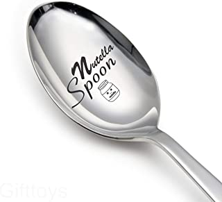 Gifttoys Nutella Spoon-engraved spoon-love gifts-love gifts for girlfriend-love gifts for husband-love gifts for wife
