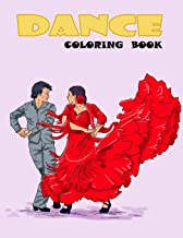 Dance Coloring Book (Volume 1)