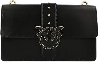 Luxury Fashion | Pinko Womens 1P21EGY5FFZ99 Black Messenger Bag | Fall Winter 19