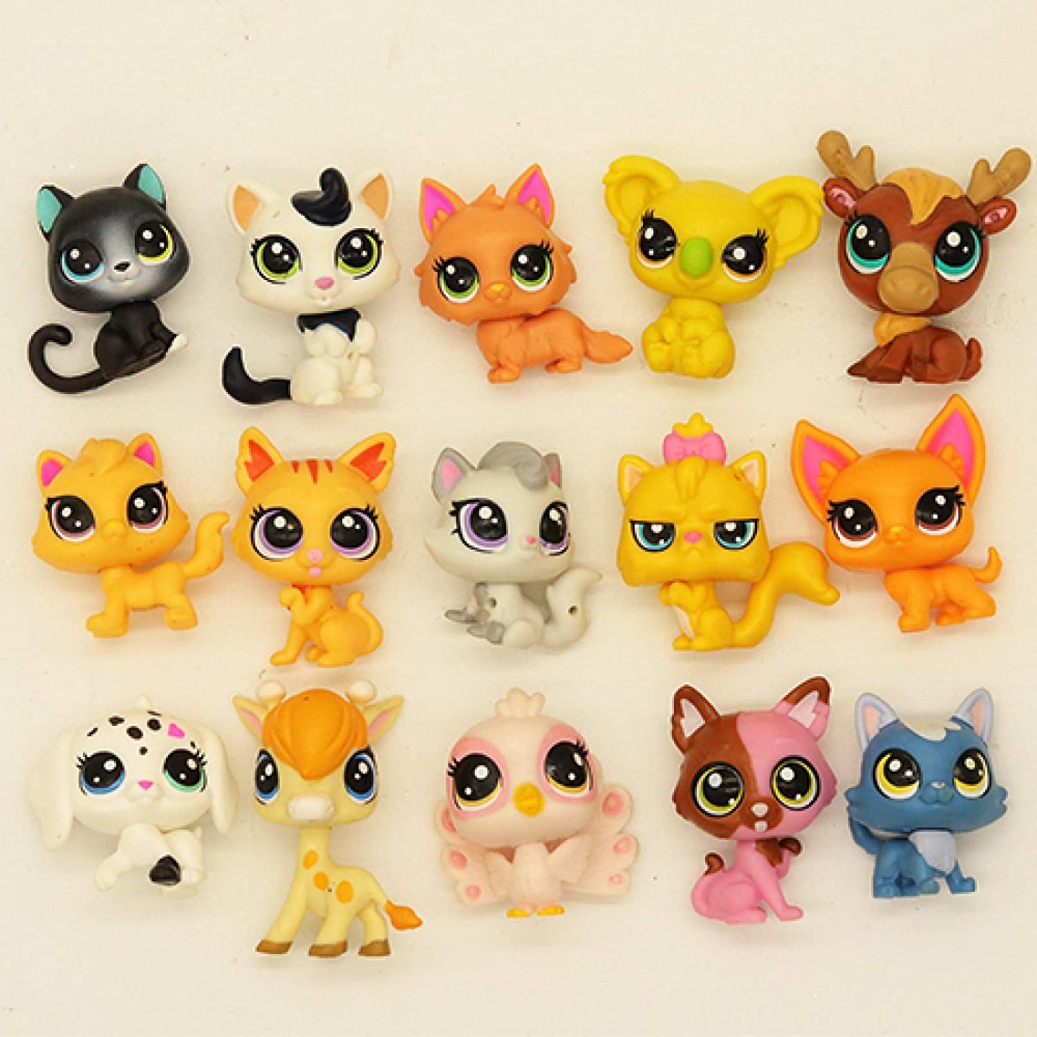 LPS CAT Lps Toy 10 15 Pcs 2-3 Fig Cat Puppy Clearance SALE! Limited time! Pet Toys Kansas City Mall cm Shop Old