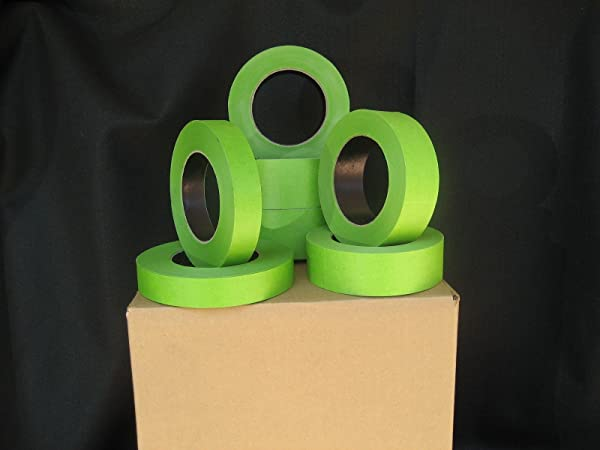 32 Rolls 1 5 X 60 Yrds Green Painters Masking Tape FACTORY SECONDS