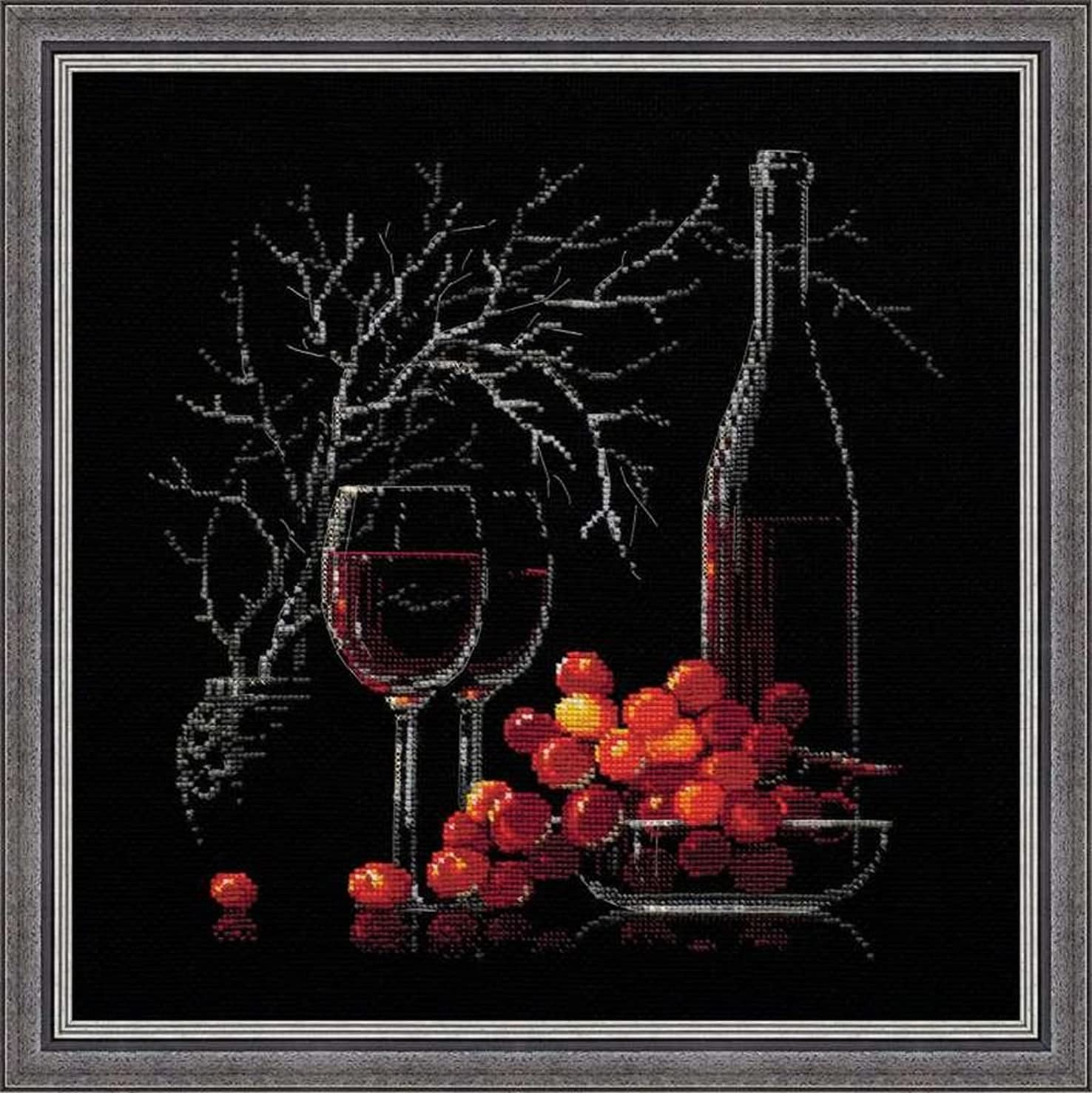 RIOLIS 1239 - Still Life with Red Wine - Counted Cross Stitch Kit 11?