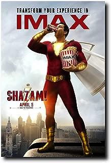 Mile High Media Shazam (2019) Movie Poster 24x36 Inch Wall Art Portrait Print