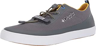 Columbia PFG Men's Dorado CVO PFG Boat Shoe, Ti Grey Steel, Electron Yellow, 10
