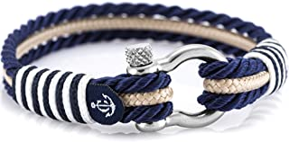 Handmade Unisex Nautical Bracelet by Constantin Nautics Made from Sailing Rope - Gift Idea for Men & Women