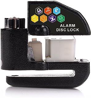 Pulusi Disc Brake Lock Anti-theft Motorcycle Motorbike Alarm Disc Lock 100dB Alarm Sound