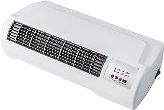 KUKEN Calefactor Split ceramico con Mando 2 potencias (1000/2000W). con Mando a Distancia y Temporizador