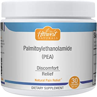 Palmitoylethanolamide (Pea) - Natural Pain Relief Pure Powder - Anti-Inflammatory Supplement 30 Gram -Harvest Naturals