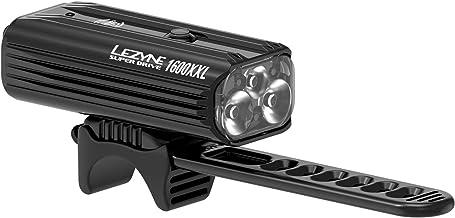 Lezyne Super Drive 1600 fietsverlichting, LED, oplaadbaar, USB, unisex, volwassenen, zwart, eenheidsmaat (maat fabrikant: ...