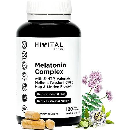 Melatonina – Valeriana – Tila – Pasiflora - Para conciliar el ...