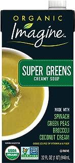 Imagine Organic Creamy Super Soups, Green, 12 Count