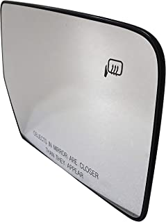 Dorman 56129 Passenger Side Plastic Backed Heated Mirror Glass