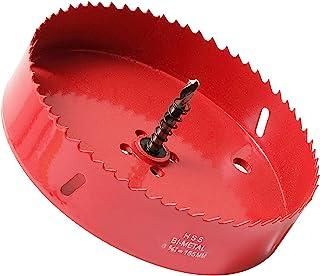 Sponsored Ad – Hole Saw 155 mm, 30 mm Bi-Metal Cutting Depth HSS M 42 Hole Cutter for Cutting Wood, Plastic, Drywall, Plas...