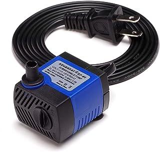 AQUANEAT Aquarium Water Pump 80GPH, Adjustable, Submersible Pump, Power Head, Small..