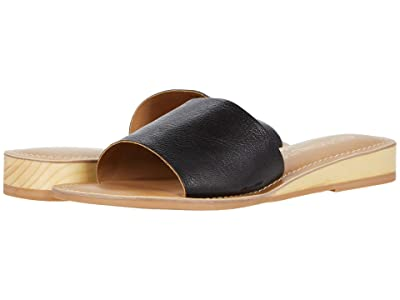Matisse Tiki (Black Leather) Women