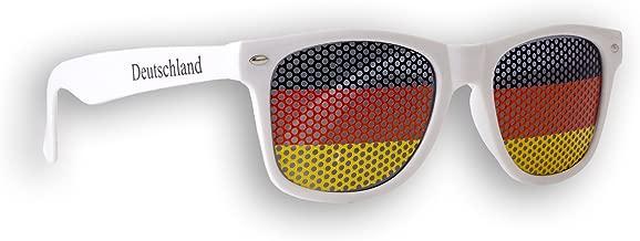 Sonnenbrille 1 x Fanbrille Spanien Fan Artikel Brille Spain Spain Rot
