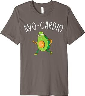 Avo Cardio Shirt | Cute Avocado Gym Addicts T-shirt Gift