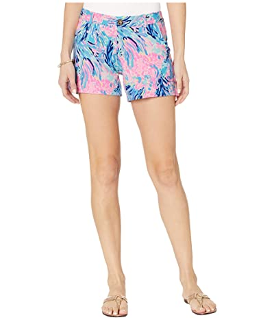 Lilly Pulitzer Callahan Knit Shorts (Periwinkle Purple Fan Sea Pants) Women