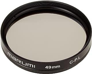 MARUMI PLフィルター 49mm C-PL 49mm コントラスト上昇 反射除去