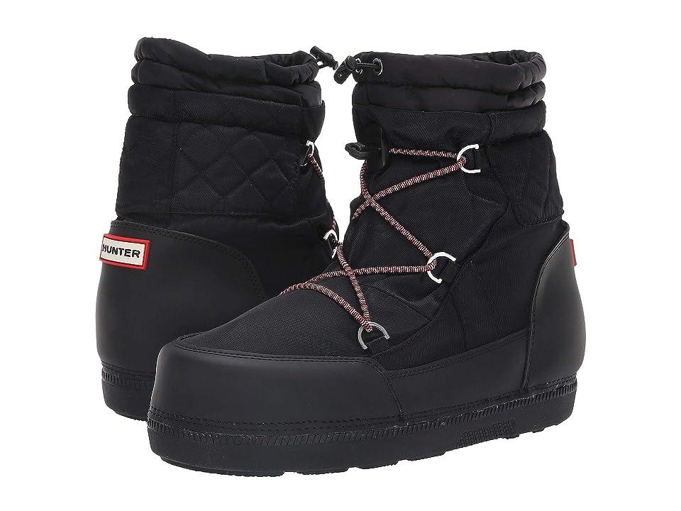 397ae764b2da Hunter Original Short Quilted Snow Boots (Black) Women s Rain Boots