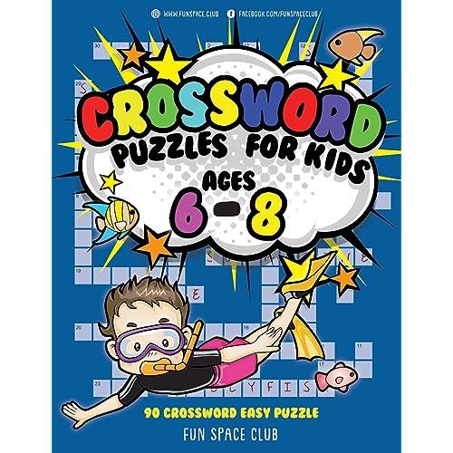 Crossword Puzzle For Kids  Amazon Com