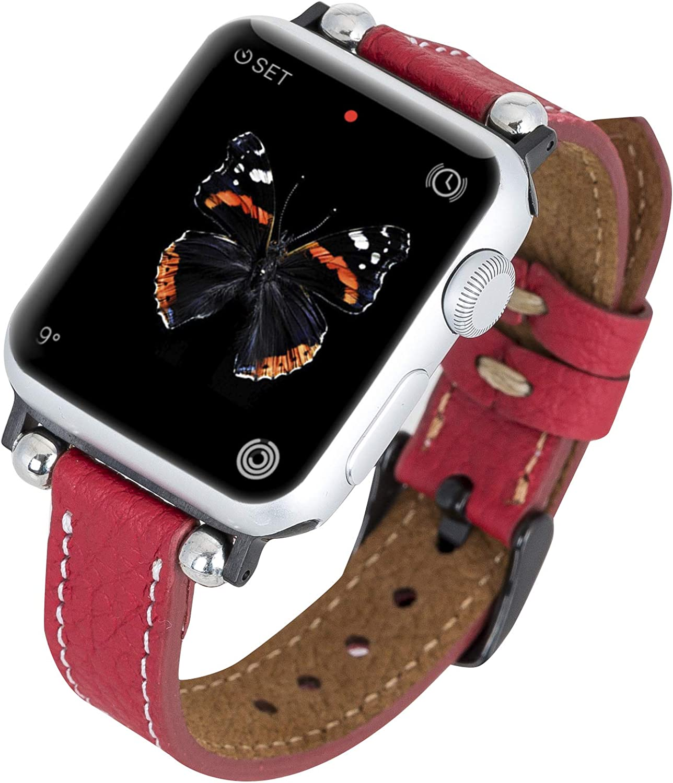 Venito Foggia Leather Cheap Watch Band Cheap bargain Compatible Ser Apple with