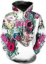 UINGKID Herren Sweatshirt Casual Scary Halloween Liebhaber 3D Print Party Langarm Hoodie Top Bluse