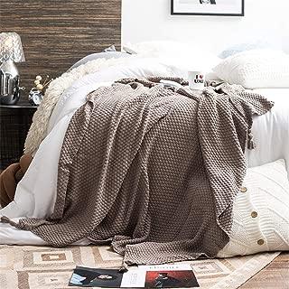 Ezee Selling Limited Couvre-lit en Polaire Chaude en Fausse Fourrure de Vison /épais pour lit Double King Size Camel Double 150 x 200cm