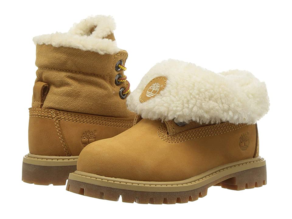 Timberland Kids Timberland(r) Icon Collection Roll-Top (Toddler/Little Kid) (Wheat Nubuck) Kids Shoes