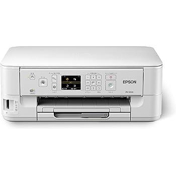 旧モデル エプソン インクジェット複合機 PX-504A 有線・無線LAN標準対応 自動両面標準搭載 前面給紙カセット スマートフォンプリント対応 4色顔料インク