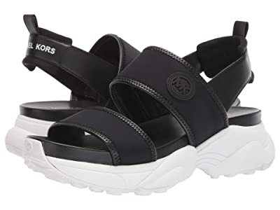 MICHAEL Michael Kors Rooney Sandal (Black) Women