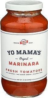 Yo Mama's Food's Marinara Magnifica Gourmet Pasta Sauce – (1) 25 oz Jar
