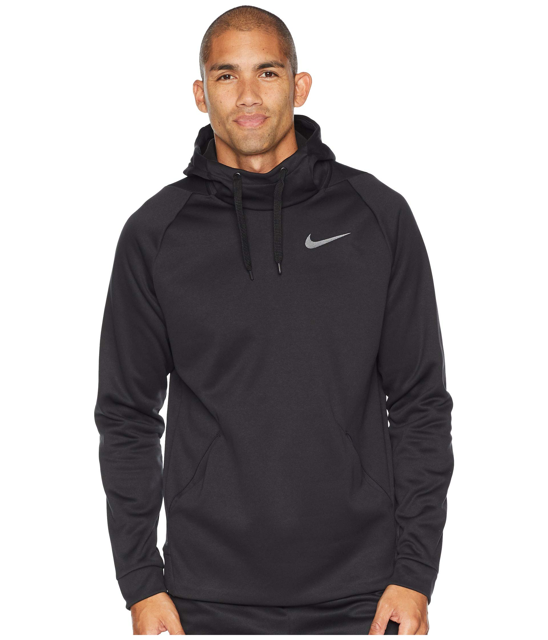 1b0be49faa54 Grey dark Pullover Hoodie Nike Thermal Black wZqTxzR