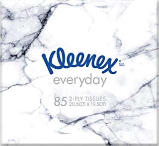 KLEENEX Facial Everyday Kleenex Everyday Facial Tissues Cube, 85 sheets, 0.133 kilograms