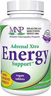 Michael's Naturopathic Programs Adrenal Xtra Energy Support - 90 Vegan Tablets - Athlete's & Active People's Energy Suppor...
