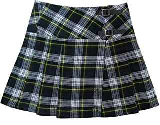 Tartanista Womens 16.5 Inch Scottish Tartan Mini Kilt Skirt