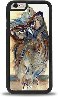 iPhone 7/8 Plus Case iZERCASE [Owl Painting Design] for Apple iPhone 7/8 Plus (Black)