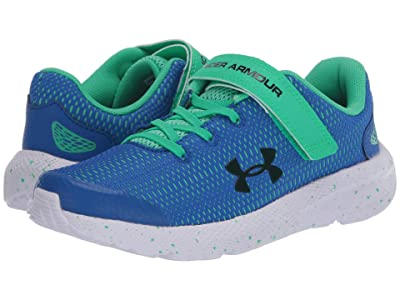Under Armour Kids Pursuit 2 (Little Kid) (Versa Blue/Vapor Green/Black) Boys Shoes