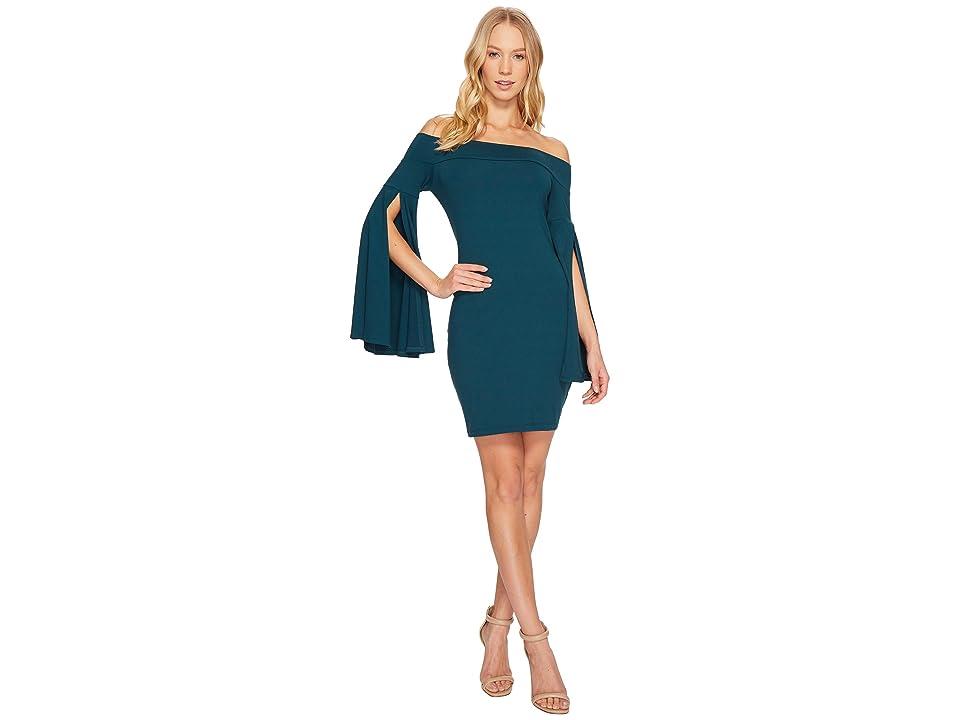 Susana Monaco Kaelea Dress (Pine Needle) Women