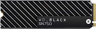 WD_Black SN750 1TB Gen3 PCIe M.2 2280 Heatsink NVMe Internal Gaming SSD, Centimeters, WDS100T3XHC