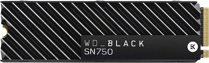 WD_Black 1TB SN750 NVMe Internal Gaming SSD with Heatsink - Gen3 PCIe, M.2 2280, 3D NAND - WDS100T3XHC