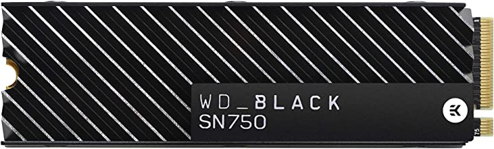 WD_Black SN750 1TB NVMe Internal Gaming SSD with Heatsink - Gen3 PCIe, M.2 2280, 3D NAND, Up to 3470 MB/s - WDS100T3XHC