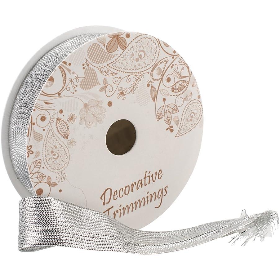 Decorative Trimmings 01066-C-004F-004 Flat Braid Trim 3/4