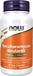 Now Saccharomyces Boulardii 60 Capsule Vegan - 60 g