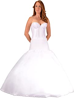 Bridal Petticoat Crinoline Fit and Flare Slip for Wedding Dress Ball Gown, USA