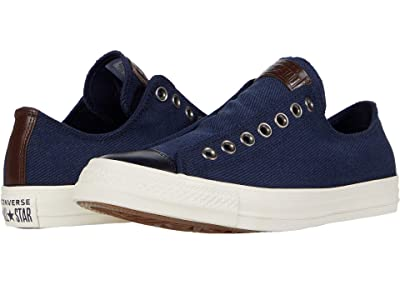 Converse Chuck Taylor All Star Slip-On (Obsidian/Egret/Obsidian) Slip on Shoes