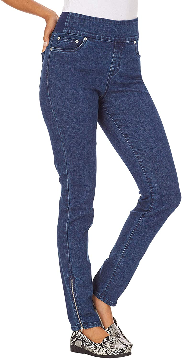 ANTHONY RICHARDS BendOver Skinny Jeans with Zippers