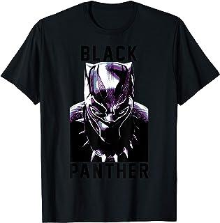 Marvel Black Panther Avengers Stare Collegiate Camiseta