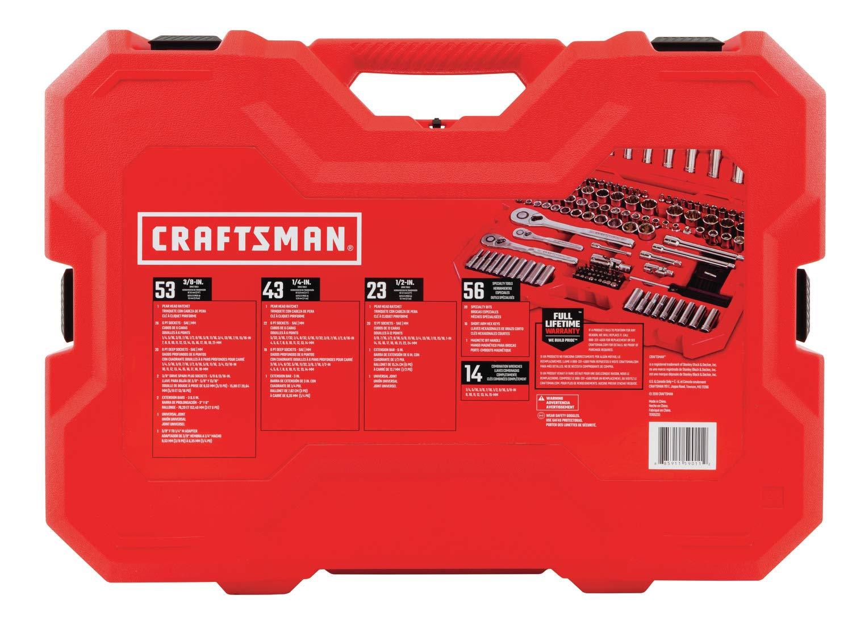 CRAFTSMAN Mechanics Tool Set, SAE/Metric, 189-Piece (CMMT12034)